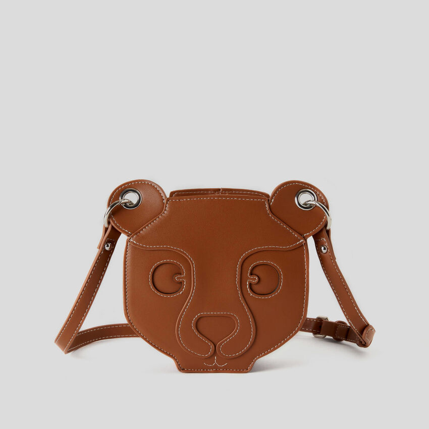 Teddy bear crossbody bag
