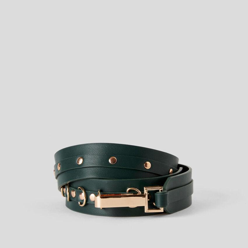 Belt with studs