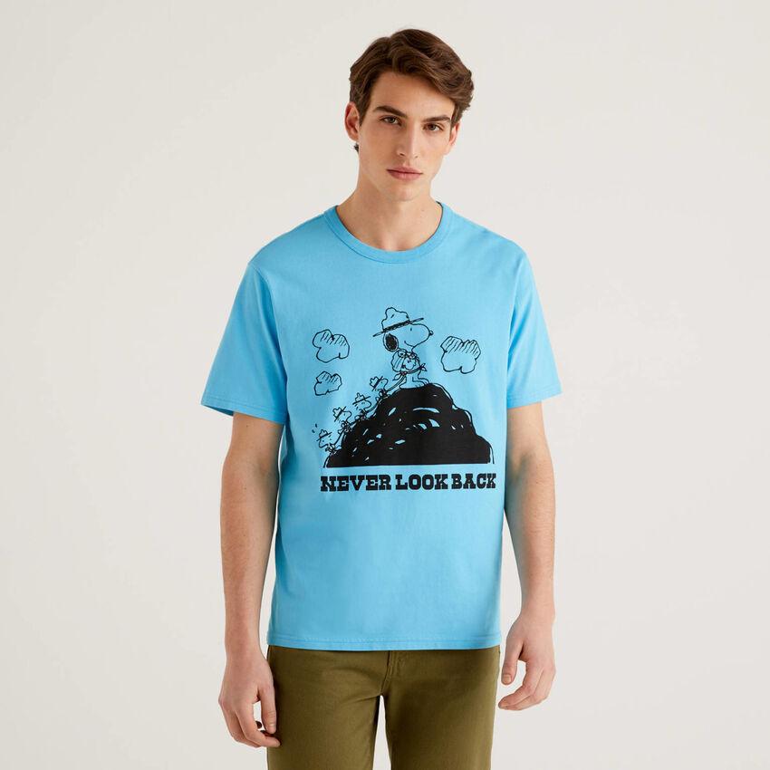 Light blue Peanuts t-shirt
