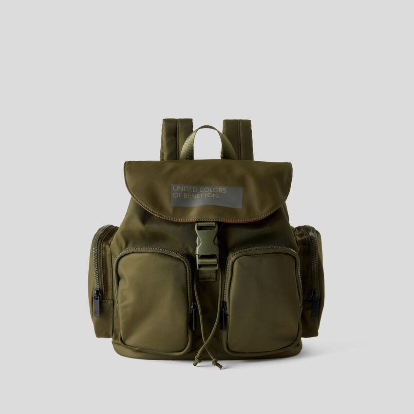 Multi-pocket rucksack