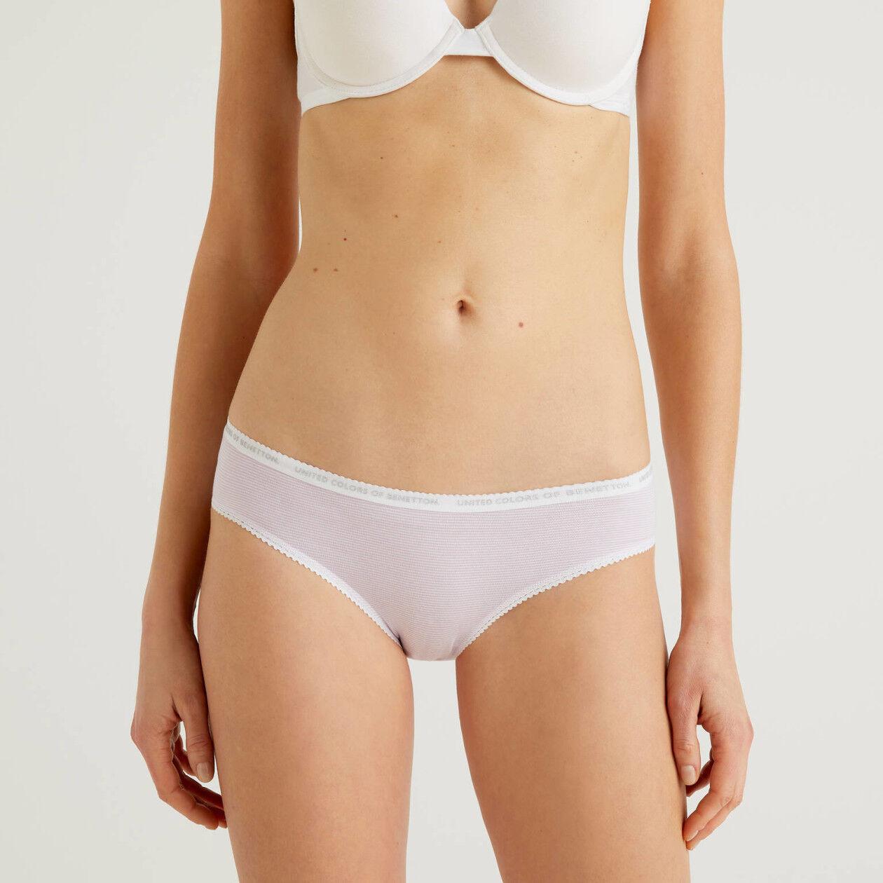 Classic underwear in stretch cotton