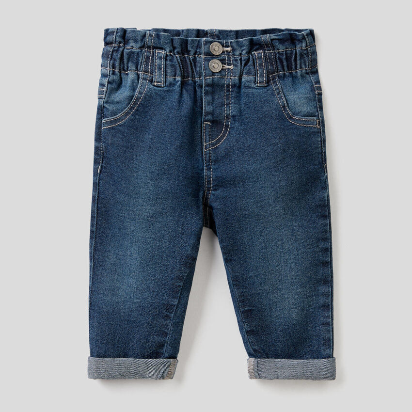 """""""Eco Recycle"""" paperbag cut jeans"""