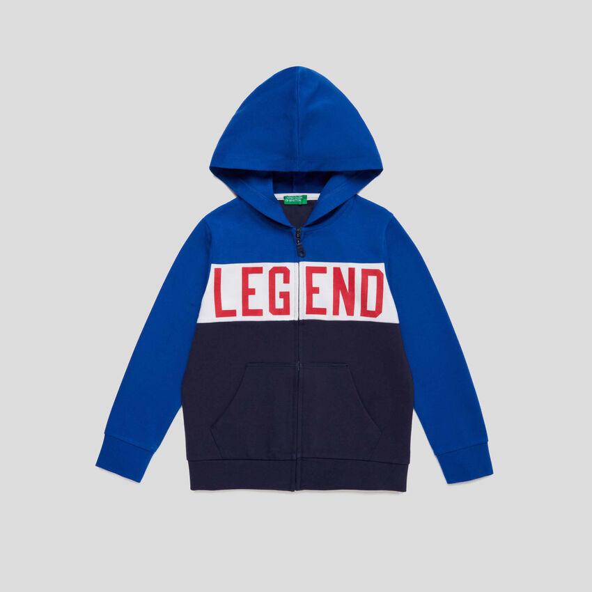 Color block sweatshirt