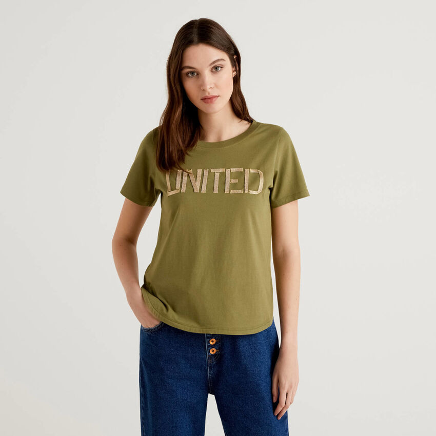 "100% cotton ""united"" t-shirt"