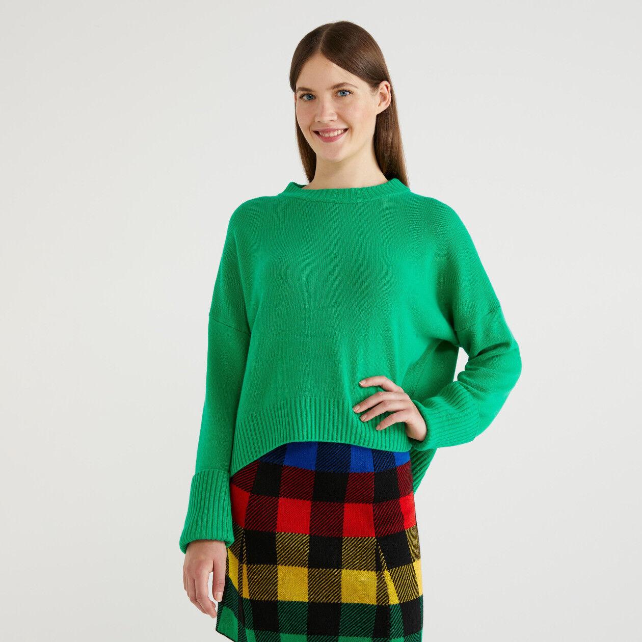 Sweater in wool blend