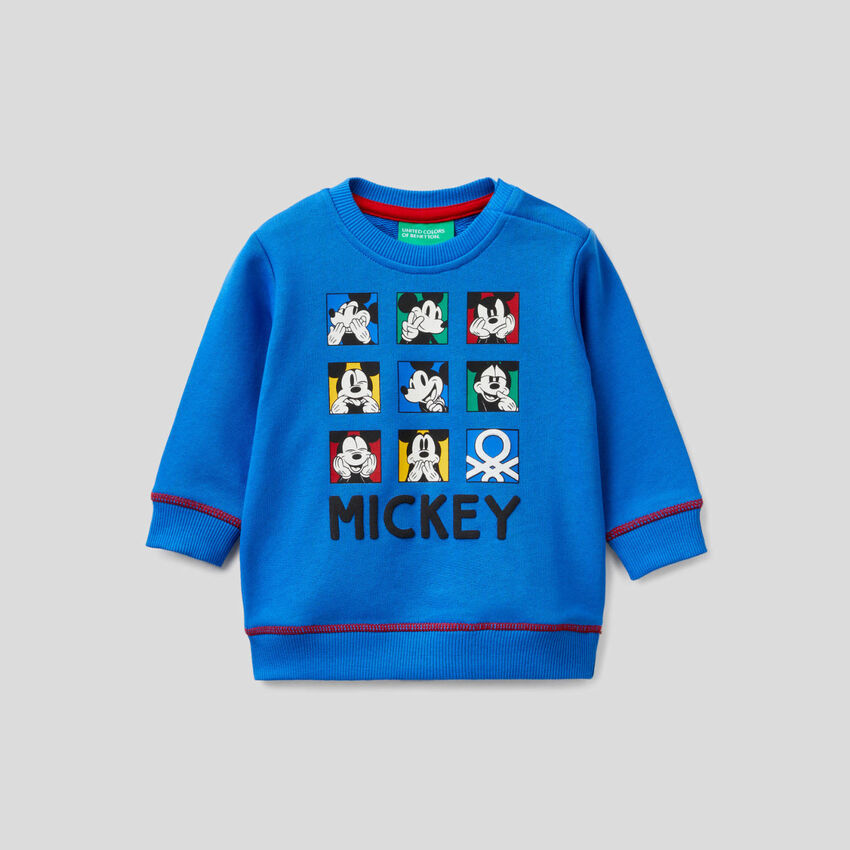 Mickey Mouse sweatshirt in 100% cotton