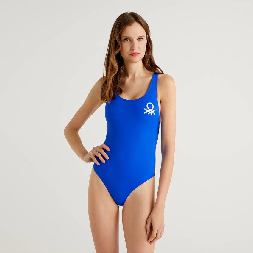 Olympic one-piece swimsuit in ECONYL®